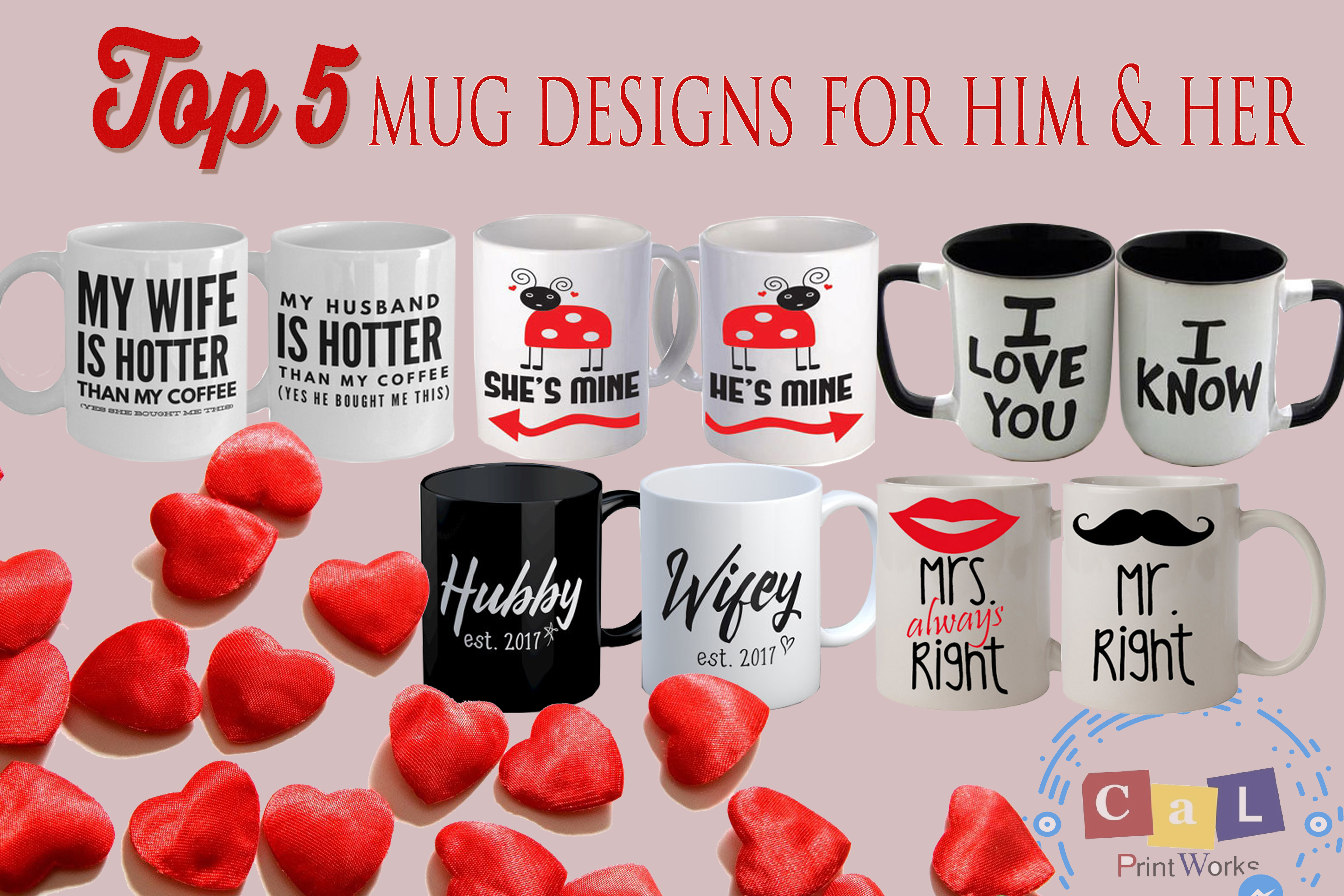 Couple Mugs For Him And Her